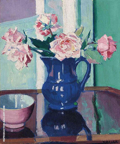 Still Life with Roses 1924 By Francis Campbell Boileau Cadell