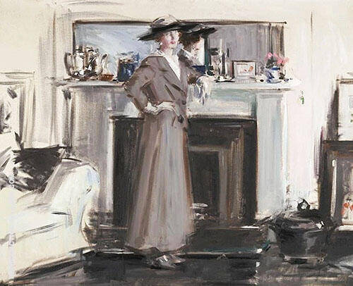 Reflections By Francis Campbell Boileau Cadell