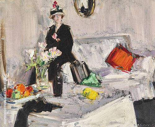 The White Room Painting By Francis Campbell Boileau Cadell