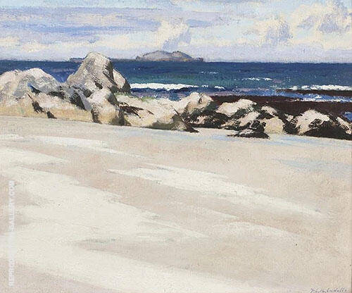 Lona, The Island of Lunga Painting By Francis Campbell Boileau Cadell