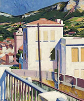 The White Villa Cassis By Francis Campbell Boileau Cadell
