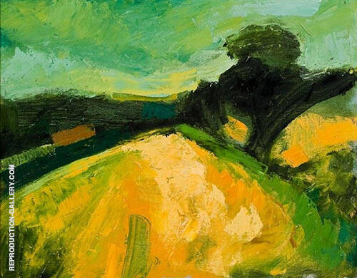 Autumn Fields By Christopher Wood
