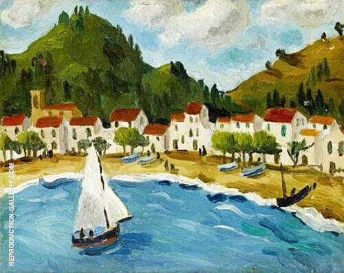 Bay South of France 1924 By Christopher Wood