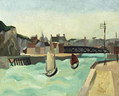 Harbour Entrance Dieppe 1929 By Christopher Wood