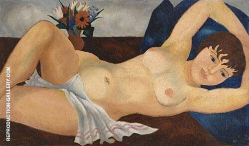 Reclining Nude 1927 By Christopher Wood