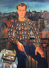 Self Portrait By Christopher Wood