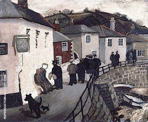 Ship Inn Mousehole By Christopher Wood