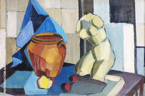 Still Life Studio Study By Christopher Wood