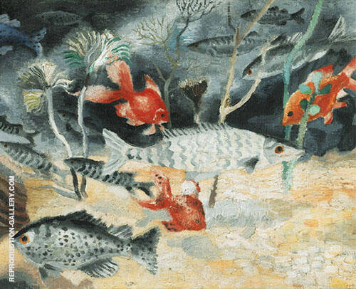 The Goldfish 1929 By Christopher Wood