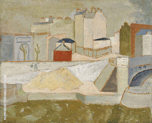 The Seine at Passy By Christopher Wood