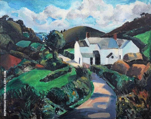 The White Farm 1928 By Christopher Wood