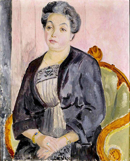Anna Josephson Thiel Painting By Isaac Grunewald - Reproduction Gallery