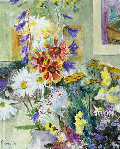 Floral Still Life By Isaac Grunewald