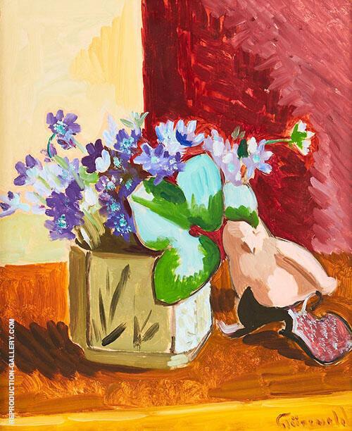 Floral Still Life 2 By Isaac Grunewald