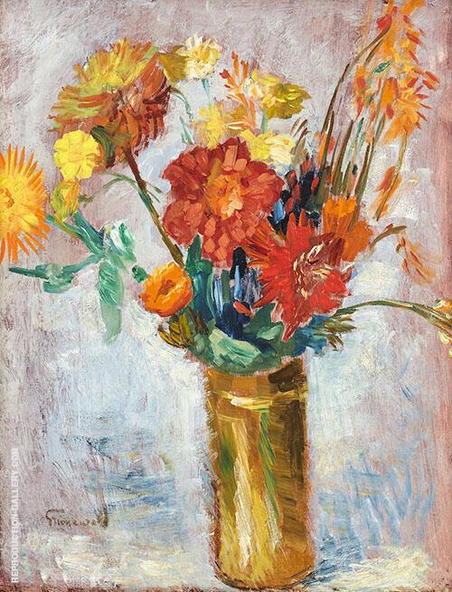 Floral Still Life 3 By Isaac Grunewald