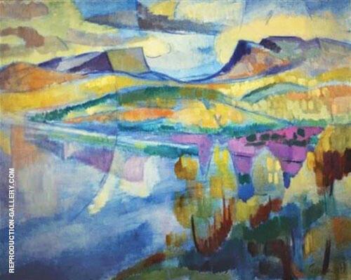 Landscape 1943 By Isaac Grunewald