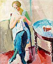 Sigrid Knitting By Isaac Grunewald