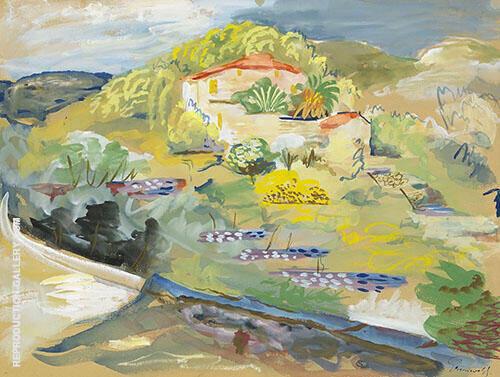 Southern Landscape By Isaac Grunewald