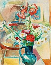 Summer Flowers By Isaac Grunewald