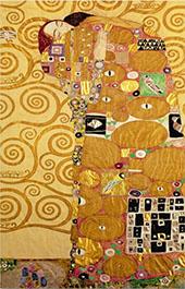 Fulfillment, Stoclet Frieze By Gustav Klimt