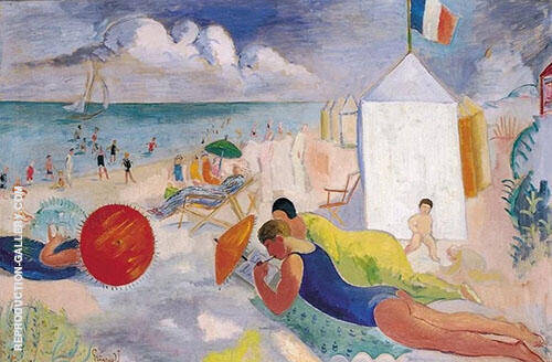 The Beach By Isaac Grunewald