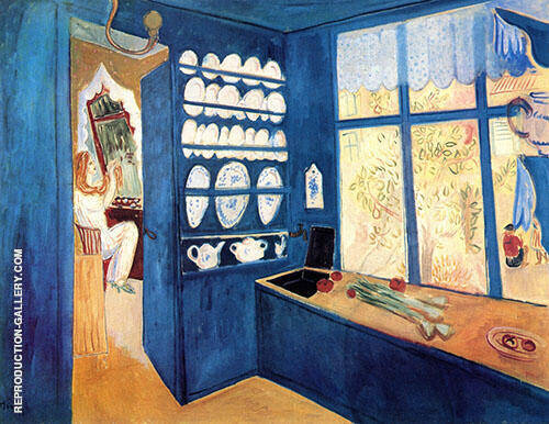 The Blue Kitchen By Isaac Grunewald