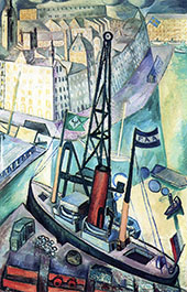 The Crane By Isaac Grunewald