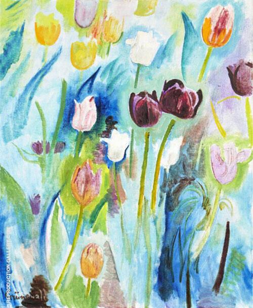 Tulips By Isaac Grunewald