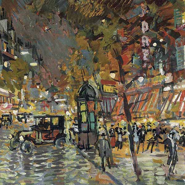 Oil Painting Reproductions of Konstantin Korovin