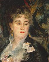 Portrait of Madame Charpentier 1877 By Pierre Auguste Renoir