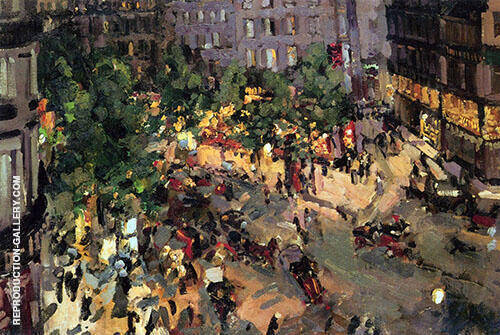 Boulevard des Capucines 1911 By Konstantin Korovin