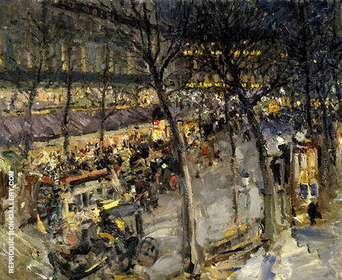 De la Paix Painting By Konstantin Korovin - Reproduction Gallery
