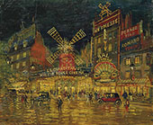 In Moulin Rouge Paris By Konstantin Korovin