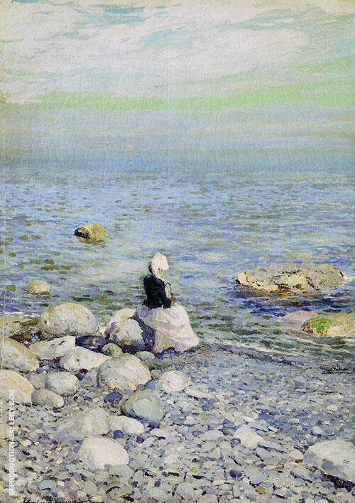 On The Shore of The Black Sea Painting By Konstantin Korovin