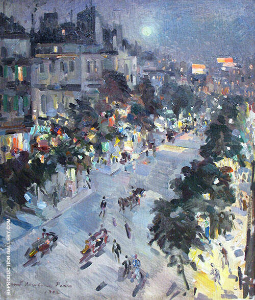 Paris 1912 By Konstantin Korovin