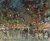 Paris at Night By Konstantin Korovin