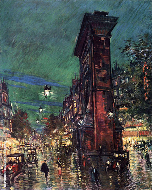 Saint Denis Paris By Konstantin Korovin