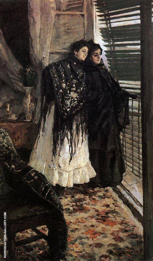 Spainish Women By Konstantin Korovin