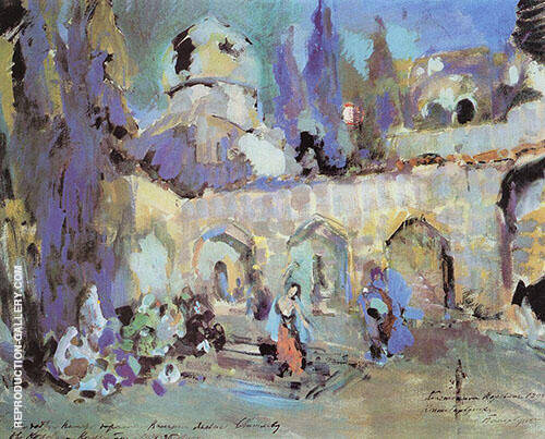 The Dance Painting By Konstantin Korovin - Reproduction Gallery