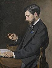 Edmond Maitre 1869 By Frederic Bazille