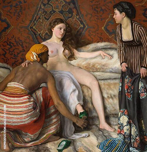 La Toilette 1870 By Frederic Bazille