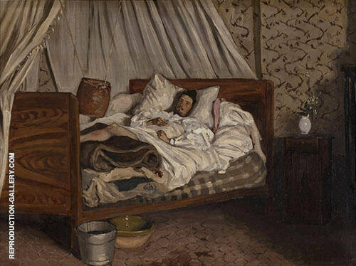 The Improvised Field Hospital 1865 By Frederic Bazille