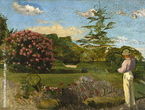 The Little Gardener 1866 By Frederic Bazille