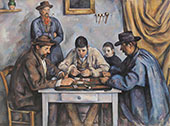 The Card Players c1890-96 By Paul Cezanne