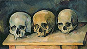 Three Skulls c1900 By Paul Cezanne