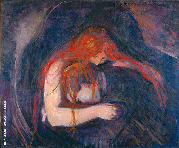 Love and Pain, aka Vampire By Edvard Munch