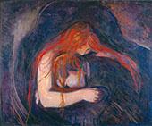 Love and Pain, aka Vampire By Edvard Munch