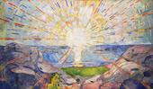 The Sun 1909 By Edvard Munch
