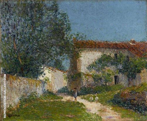 Clisson 1899 By Gustave Loiseau