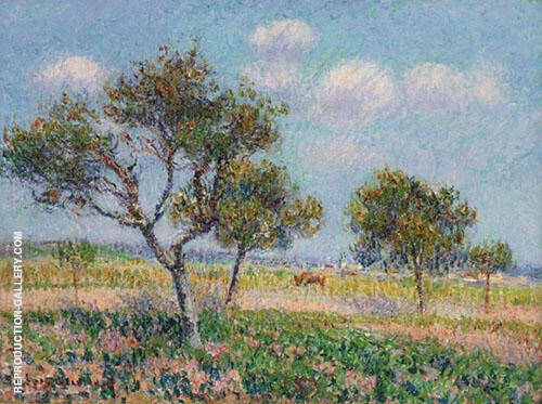 October in Normandy 1905 Painting By Gustave Loiseau